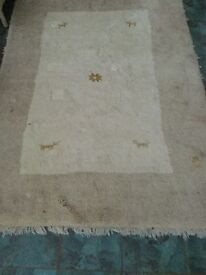 Persian Gabeh natural wool rugs hand-knotted diferent sizes and colours for sale
