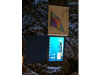 Samsung Galaxy Tab S 10.5 (16GB) Titanium Bronze + 64GB microSD and Samsung simple flip cover.