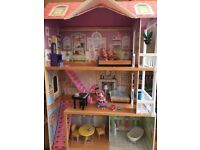 ELC DOLLS MANOR HOUSE GORGEOUS NEVER PLAYED WITH COMPLETE WITH INSTRUCTIONS