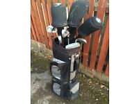 Full set John Letters Trilogy golf clubs