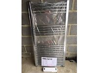 Radiator, Towel radiator, brand new and boxed, curved chrome 600mm x 1200mm only £90