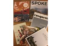 Assorted cycling and mountain biking magazines