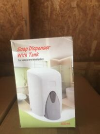 Brand new soap dispensers