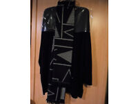 Ladies Cashmere Black M & S Tunic Unworn Labels XL