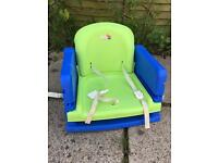 Child booster high chair