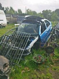 Vw bora blue breaking for parts