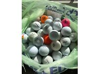 Golf Balls Mixed Bundle x 85 Golf Balls, Lot 6 Titleist, Srixon etc