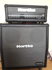 HARTKE AMP HEAD AND 4X10 CAB FOR SALE