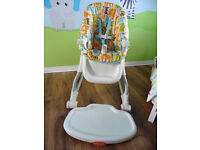 Fisher Price Easy Clean High Chair ( read description)