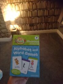 Phonics flash cards biff and chip