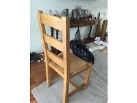 SOLID OAK KITCHEN/DINING CHAIRS