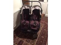 Baby jogger city mini double pushchair