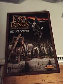 Siege of Gondor strategy game rule book