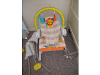 Fisher Price Infant 3 in 1 Rocker Seat Bouncer Slightly Used with Original Box