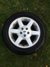 Land Rover Freelander spare wheel