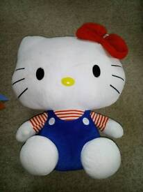 Hello kitty soft toy.