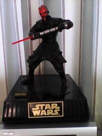 Star Wars collector figures