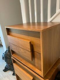 Free - 2 x bed side tables and Chester draws