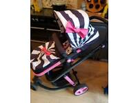 Cosatto giggle 2 with car seat