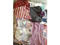 """Men's clothes bundle of medium t-shirts and 32"""" jeans and shorts"""