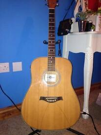 Gear4Music Electric Acoustic Guitar