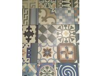 Lovely Moroccan looking tiles