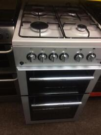 Silver flavel 50cm gas cooker grill & oven good condition with guarantee