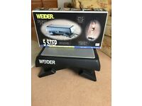Weider Ultimate 5 step stepper,