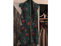 Floral Oasis jumpsuit will slim line belt size 8 worn once