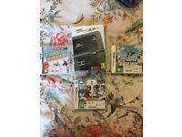Nintendo 3ds xl new edition plus 3 games, only used twice