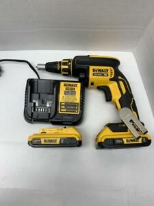 DRILL A GYPS DEWALT BRUSHLESS 20V LITHIUM ION NEUFFFF INCLUS 2 BATTERIE 2 AMP +++ SAC DE TRANSPORT DEWALT