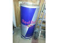 Stand up Red bull fridge