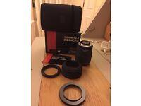 Sigma 105mm f/2.8 EX DG Macro Nikon Fit Lens in London