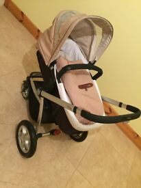 Beautiful Mothercare My4 buggy/pram