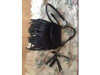 Black Aldo Tassel Bag