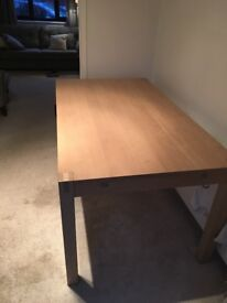 M&S dining room table in good condition.