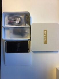 HTC One M9 in box with all accessories SIM FREE UNLOCKED
