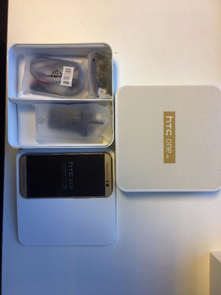HTC One M9 in box with all accessories SIM FREE UNLOCKEDin Birmingham City Centre, West MidlandsGumtree - WHOLESALE PRICE HTC One M9 Boxed with All Accessories SIM FREE UNLOCKED to all networks. Grade A Refurbished Price £180 (Fixed Price, No Bargain, No Offers) Specifications 157g, 9.6mm thickness Android OS, v5.0, up to v7.0 Internal Memory 32 GB, 3...