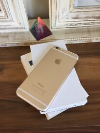 Gold iPhone 6 16gb