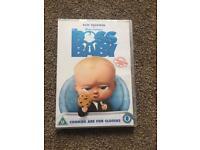 Brand New The Boss Baby DVD