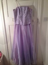 Victory Collection Lilac Prom Dress / Bridesmaid Dress For Sale