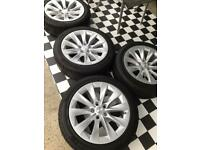 4X Genuine 245 45 19 Tesla model S Slipstream WinterWheels Pirelli Tyres