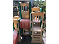 Little tikes climbing frame and slides