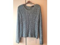 LADIES UK SIZE 14 - WINTER JUMPER - EXCELLENT CONDITION - VERY CHEAP AT £6 - WONT FIND BETTER