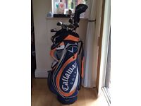 golf kit + bag taylor made R7