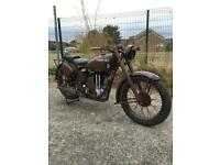 1942 matchless wd g3l 350 ex ww2 motorcycle
