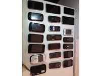 Job lot 21 Mobile Phones