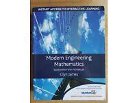 Modern Engineering Mathematics 4th edition, Glyn James