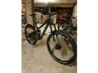 2015 Norco Sight Carbon 650b full suspension mountain bike