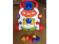 Chicco Baby Steps Activity Walker With Original Box